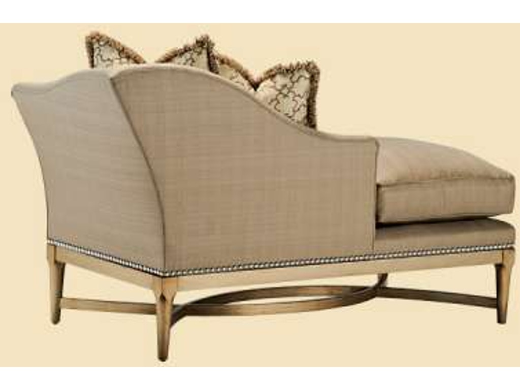 Marge Carson Living Room Tango Chaise Tan44 Hickory Furniture Mart Hickory Nc
