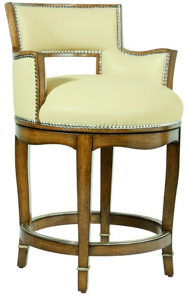 Marge Carson Bar And Game Room Tango Counter Stool Tan47
