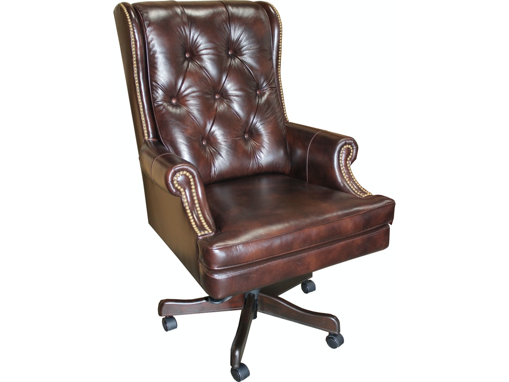 Parker living home office leather desk chair dc 112 ha for Affordable furniture washington dc