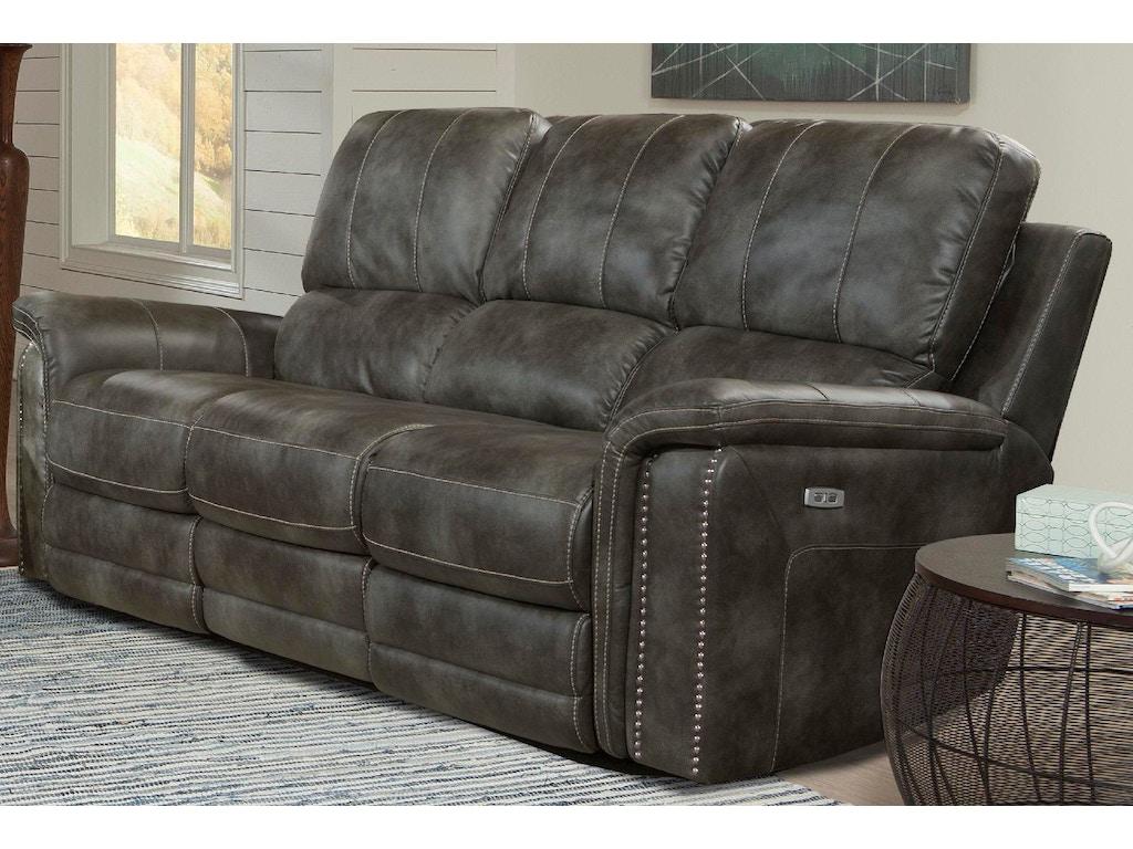 Parker Living Living Room Sofa Dual Power Rec W Usb