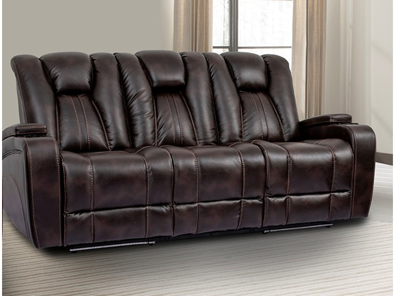 Parker Living Living Room Sofa Dual Reclining Power W Usb