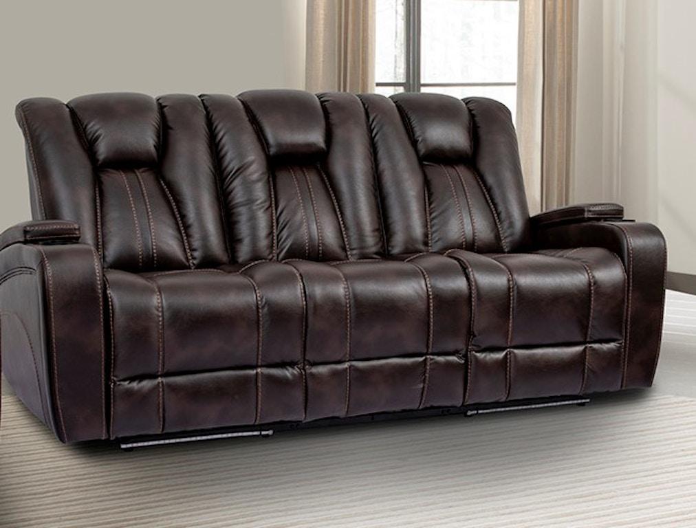 Peachy Parker Living Living Room Sofa Dual Reclining Power W Usb Cjindustries Chair Design For Home Cjindustriesco