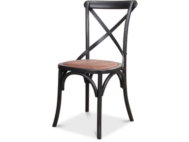 Sarreid Tuileries Gardens Chair Black Mlt/2 17906