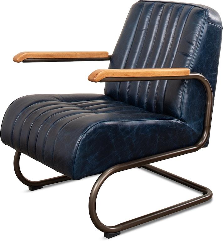 Living Room Furniture Houston Tx: Sarreid Living Room Bel-Air Arm Chair Blue 29515