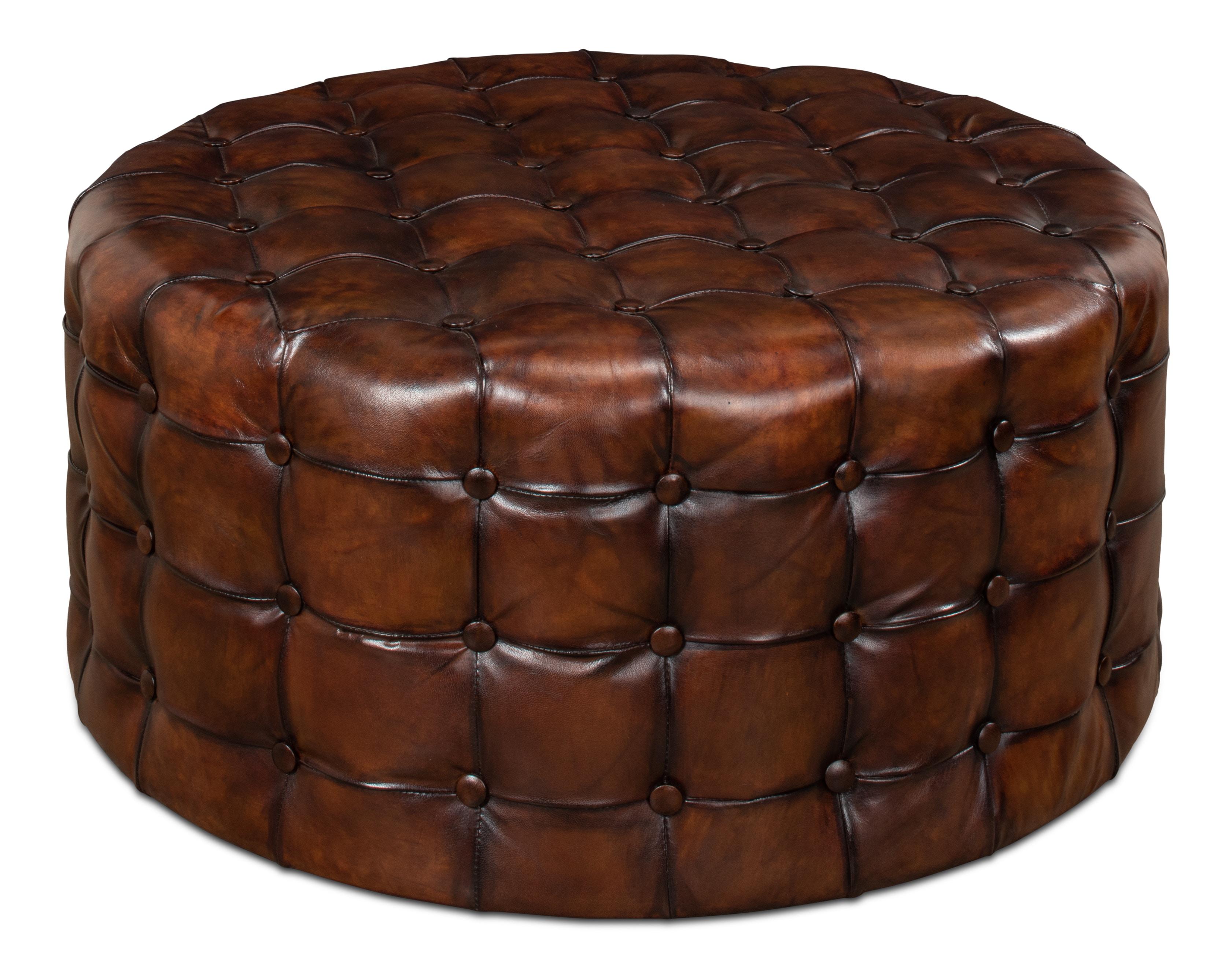 The sarreid living room leather