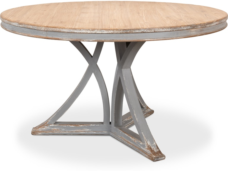 Sarreid French Country Round Dining Table 30537 James