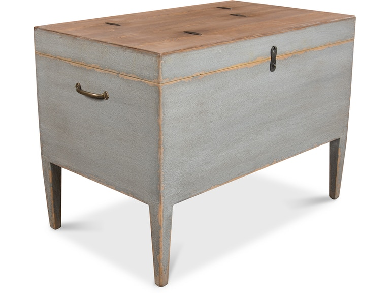 Sarreid Trunk Side Table With Secret Storage 40222 From Walter E Smithe Furniture Design