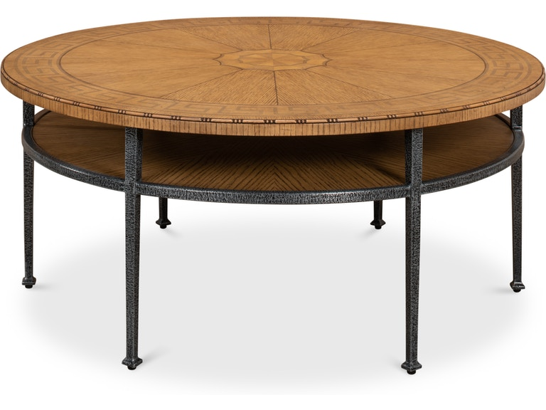 Sarreid Greek Key Tail Table 73 154 From Walter E Smithe Furniture Design