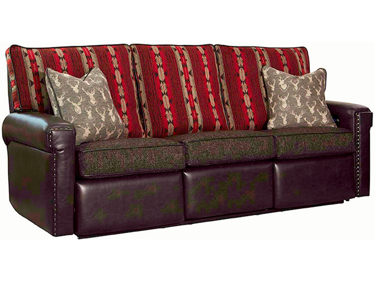 Marshfield Furniture Living Room Reclining Sofa 1944 23 Eller And
