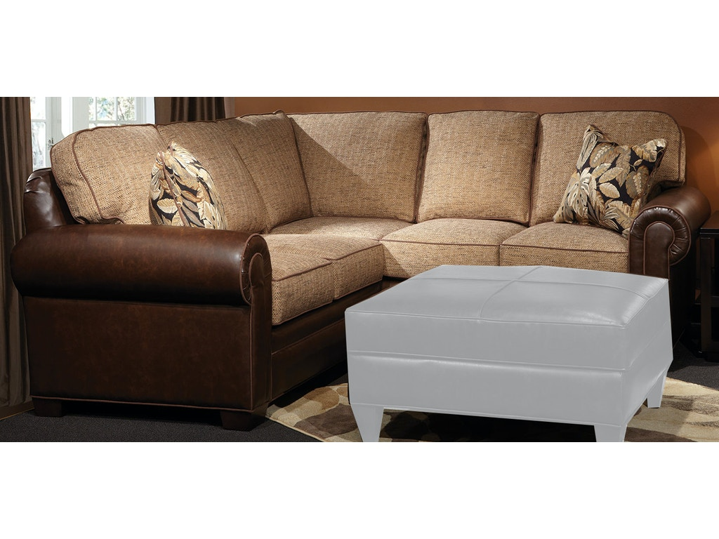 Marshfield Furniture Living Room Baldwin Sectional 2476