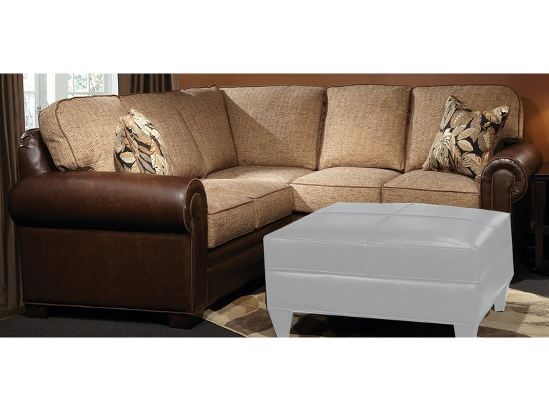 Marshfield Furniture Living Room Baldwin Sectional 2476 Sectional