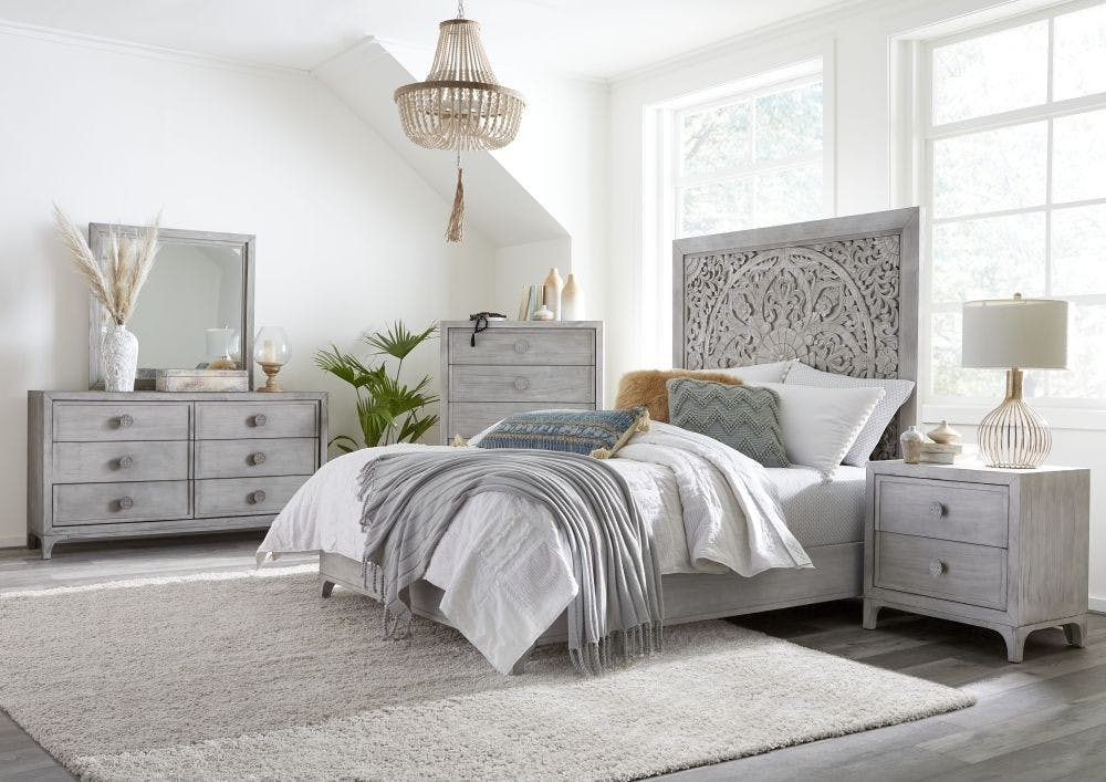 Modus Bedroom Boho Chic Nightstand 1jq981 Gerbers Home Furnishings Mesa Az