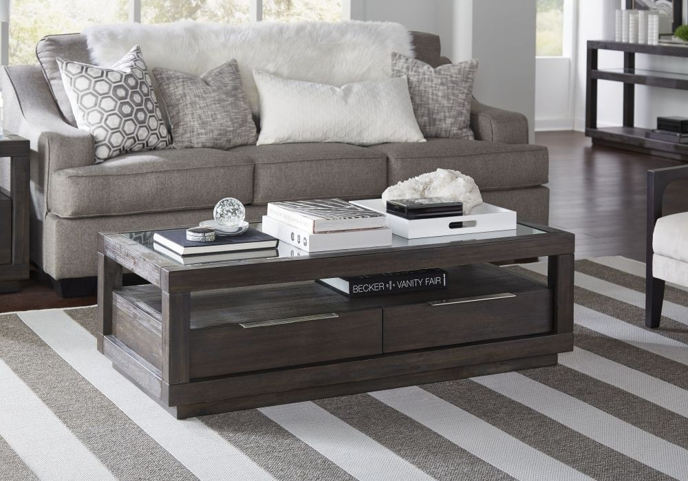 Bon Modus Living Room Oxford Coffee Table AZU521 At China Towne Furniture