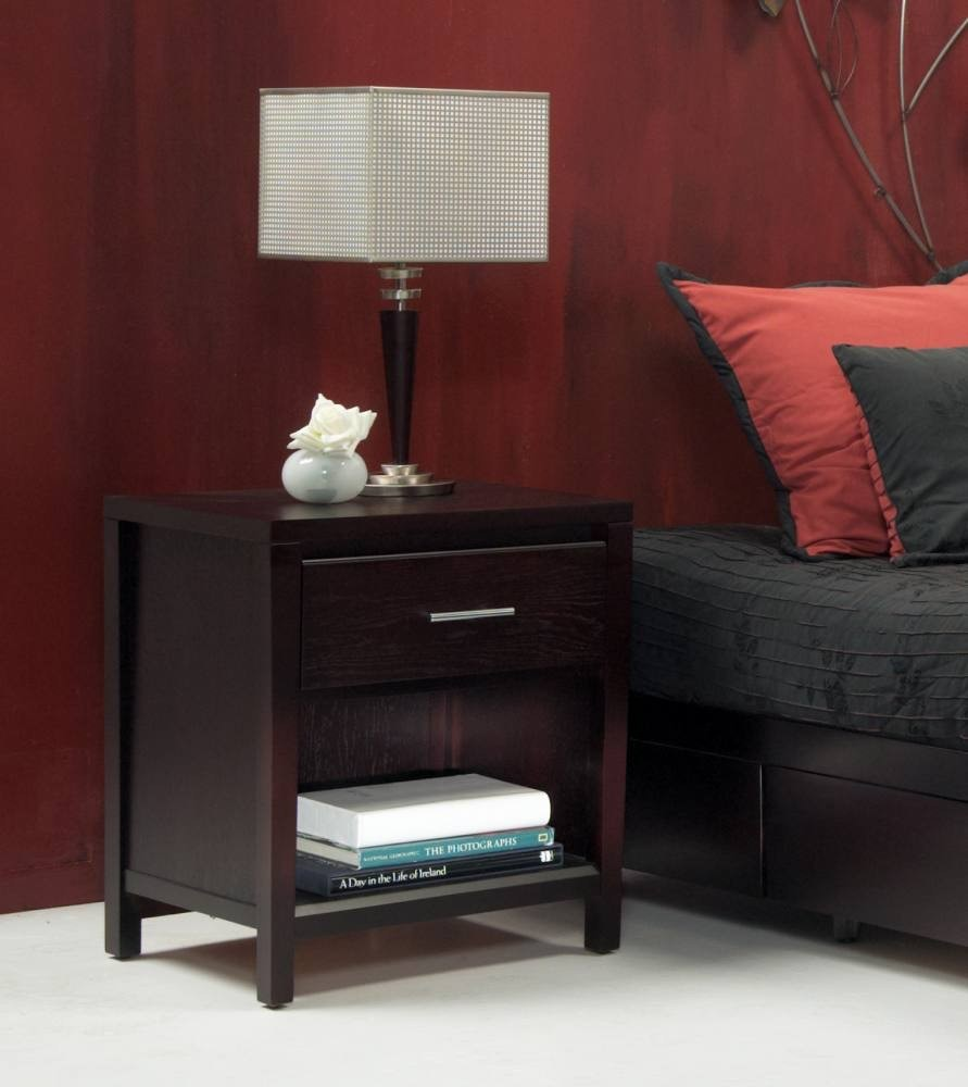 Modus Nevis Nightstand With Charging Station NV2381P