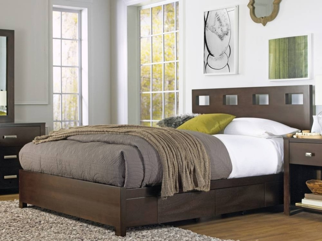 Modus Bedroom Riva Storage Bed Rv26d5 At Anna S Home Furnishings