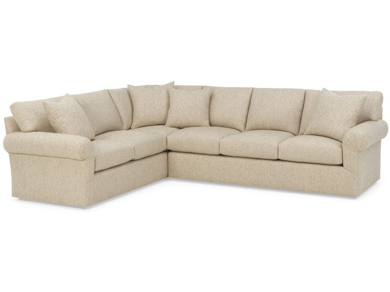 RC Furniture Living Room Anja Sectional - Thomasville of ...