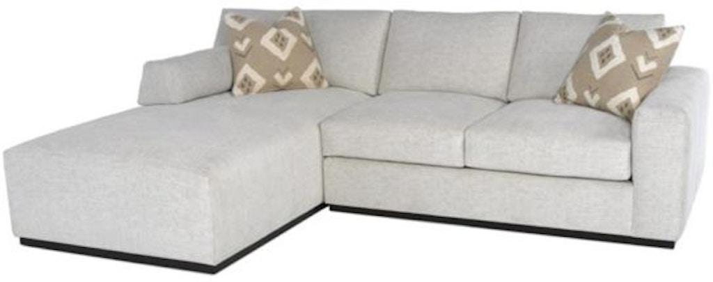 Fantastic Rc Furniture Living Room Boris Wood Base 2Pc Chaise Creativecarmelina Interior Chair Design Creativecarmelinacom