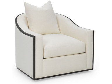 Rc Furniture Caiden Wood Trim Chair