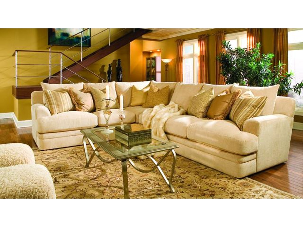 Rc Furniture Living Room Bellagio Sectional Woodbridge