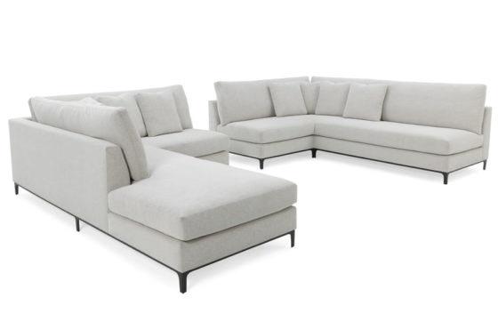 RC Furniture Jax Corner Sofa/Bumper Sectional