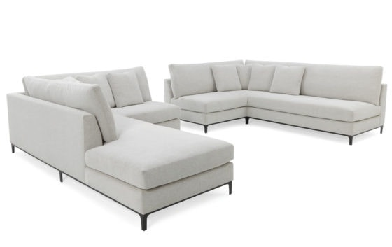 RC Furniture Jax Corner Sofa/Bumper Sectional