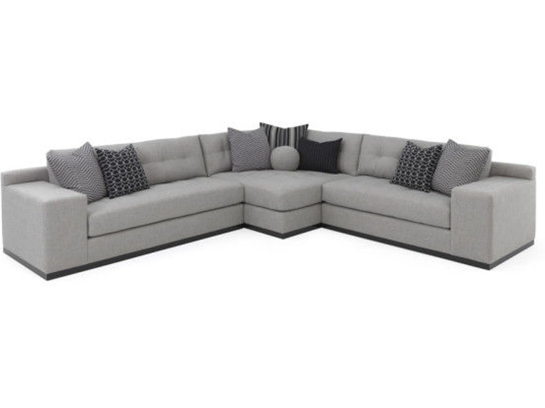RC Furniture Living Room Koda (Wood Base) Sectional ...