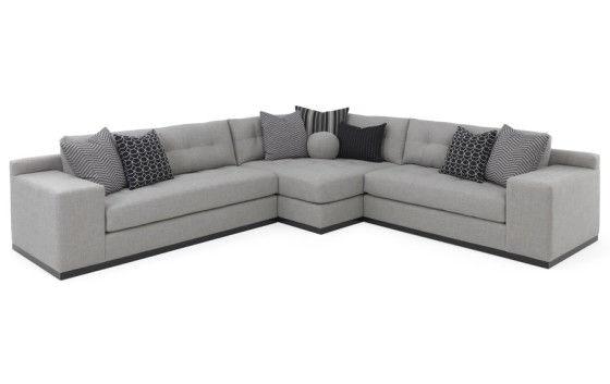 RC Furniture Koda (Wood Base) Sectional