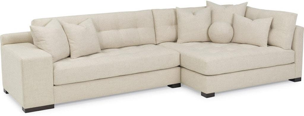 RC Furniture Living Room Koda (Wood Leg) Sectional - Noel ...