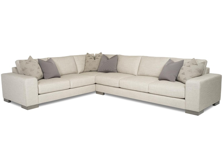 RC Furniture Living Room Mateo Sectional - Thomasville of ...