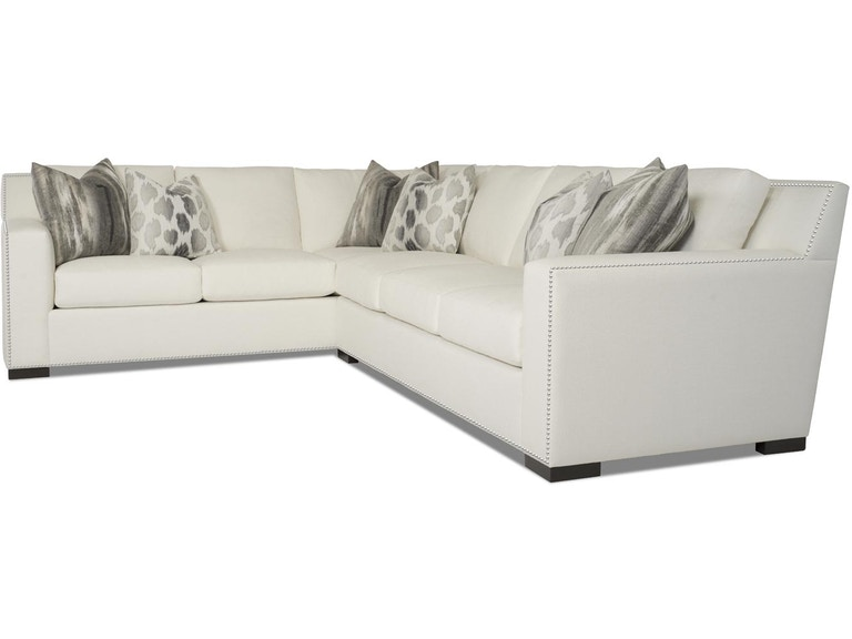 RC Furniture Living Room Phoenix 2pc Sectional (With Nails ...
