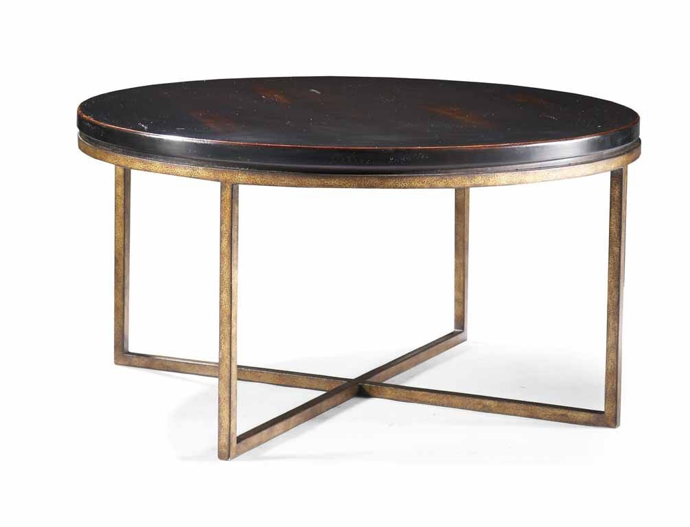 CTH Sherrill Occasional Round Cocktail Table 322 830