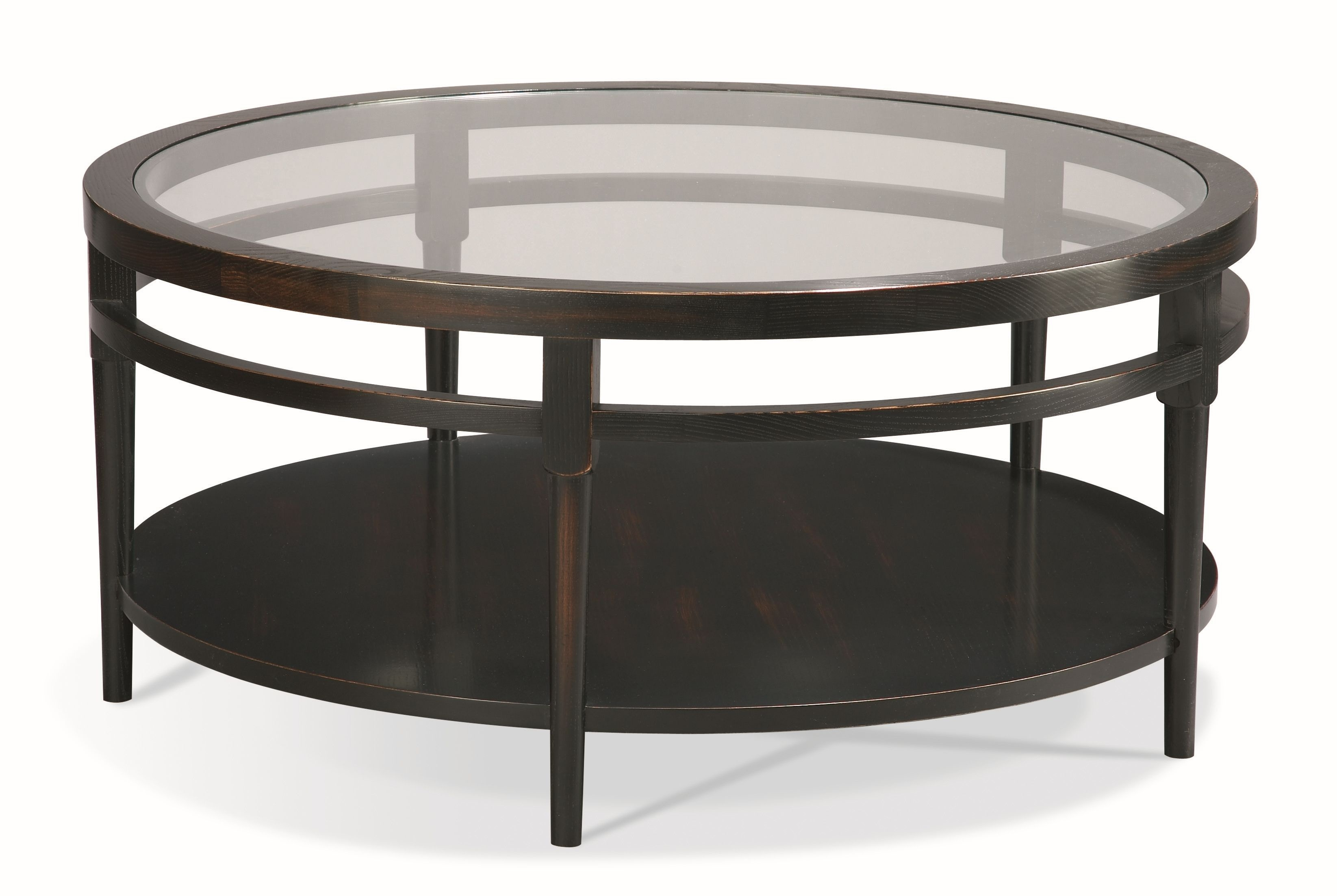 CTH Sherrill Occasional Round Cocktail Table 356 830