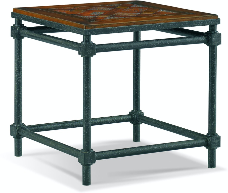 Abbey Jigsaw Bunching Table: CTH-Sherrill Occasional Living Room Lamp Table 965-860