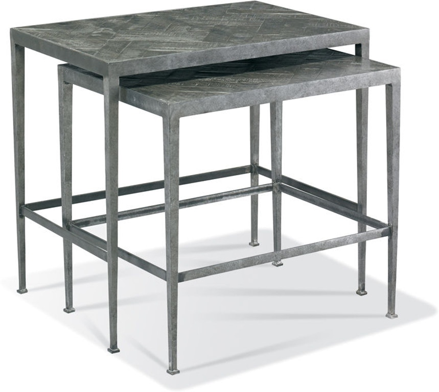 The Cth Sherrill Occasional Living Room Taos Nest Of Tables Is Available In San Antonio Tx Area From Stowers Furniture 966 002