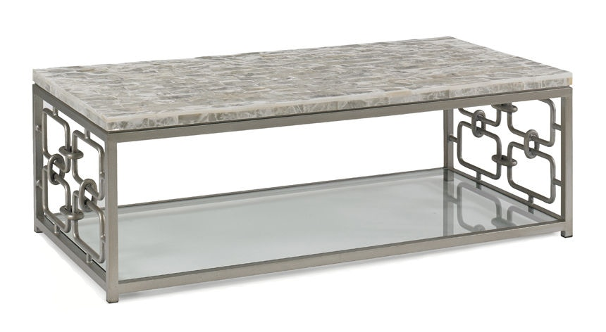 CTH Sherrill Occasional Gypsos Cocktail Table 966 061