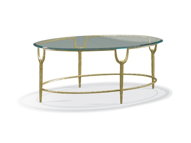 CTH-Sherrill Occasional Oval Cocktail Table 965-114G