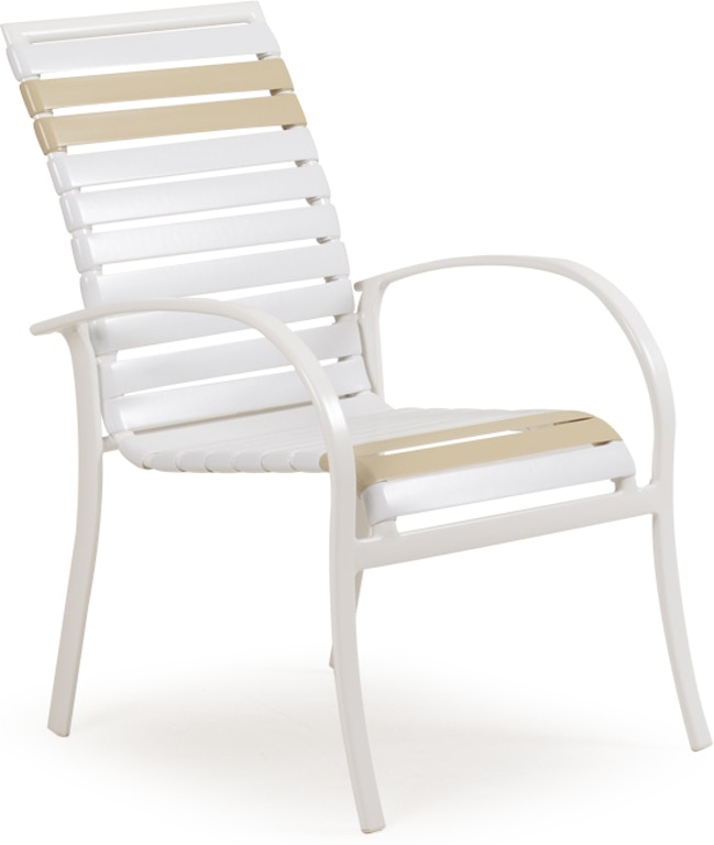 Cool Watermark Living Outdoor Patio Stackable Dining Arm Chair Ibusinesslaw Wood Chair Design Ideas Ibusinesslaworg