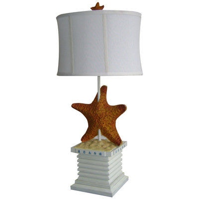 Merveilleux Watermark Living Lamps And Lighting Starfish Table Lamp   Antique White  831TLAW At Claussens