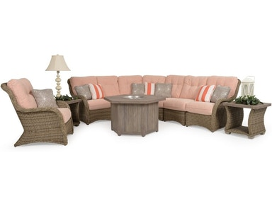 Watermark Living OutdoorPatio Riverside Sectional - Ash ...