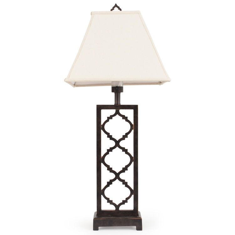 Watermark Living OutdoorPatio Cast Style Table Lamp