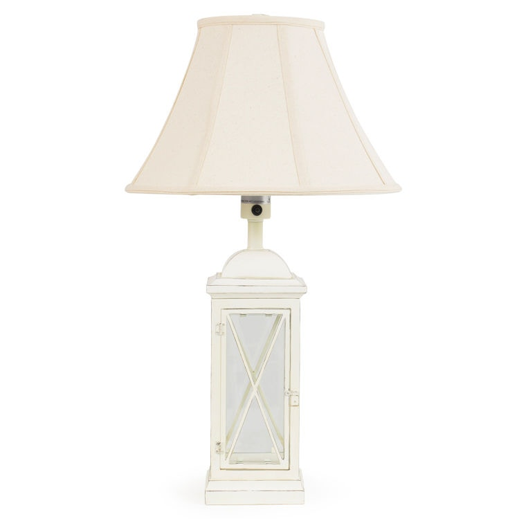 Watermark Living Outdoorpatio Window Pane Outdoor Table Lamp Out