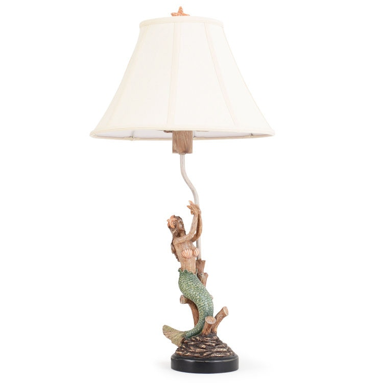 Watermark Living Outdoorpatio Mermaid Outdoor Table Lamp Out 721tl