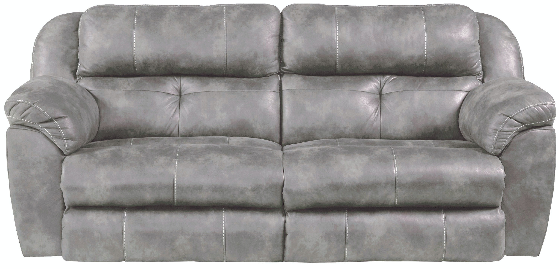 Catnapper Furniture Power Headrest Power Lay Flat Reclining Sofa 61891