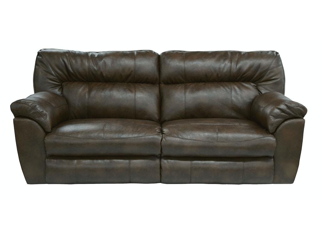 Catnapper Furniture Living Room Extra Wide Reclining Sofa