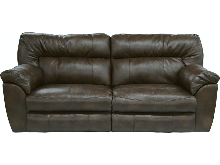 Catner Furniture Extra Wide Reclining Sofa 4041