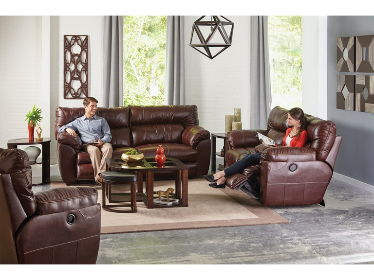 Fabulous Catnapper Furniture Living Room Lay Flat Reclining Console Dailytribune Chair Design For Home Dailytribuneorg