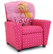 Kidz World Furniture Barbie Recliner 1300 Recliner Barbie