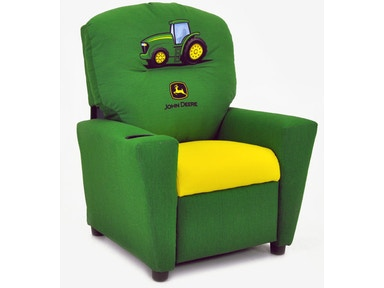 Kidz World Furniture John Deere Boys Recliner 1300-Recliner-John Deere-Boys
