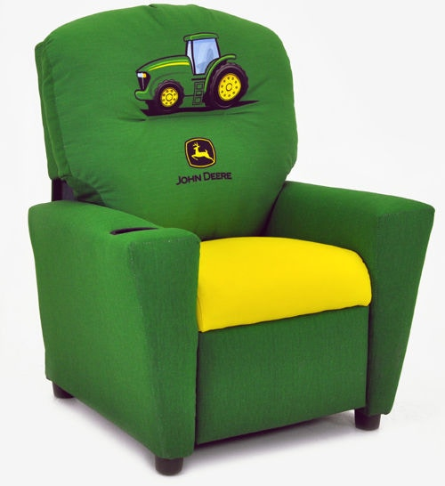 Beau Kidz World Furniture John Deere Boys Recliner 1300 Recliner John Deere Boys