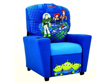 Kidz World Furniture Disney Toy Story Recliner 1300-Recliner-Toy Story
